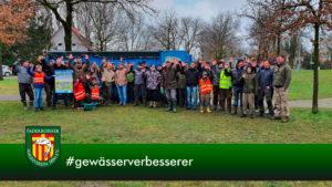 Die Angler des Paderborner Angelverein haben die heimische Gewässer gereinigt